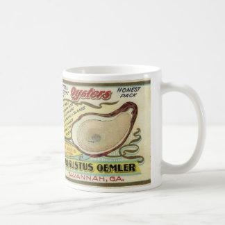 De Oesters van de Inham van de meermin Koffiemok