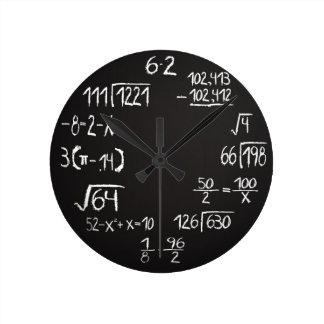 De officiële Klok van de Muur van de Wiskunde Geek