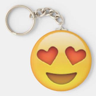 De Ogen Emoji Keychain van het hart Sleutelhanger