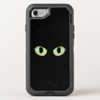 De ogen van de kat zien alles OtterBox defender iPhone 8/7 hoesje