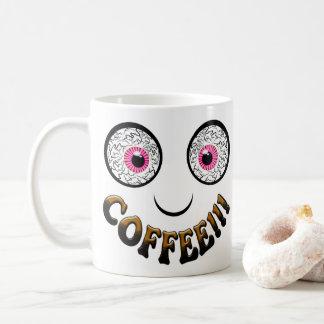 De Ogen van de koffie Koffiemok