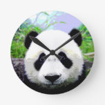 De Ogen van de panda Muur Klok