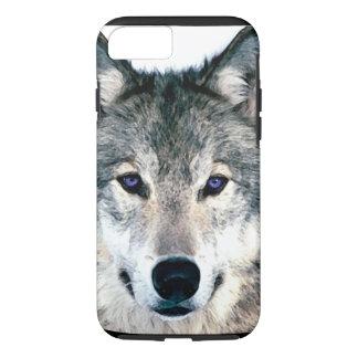De Ogen van de wolf in dier van de bos het wilde iPhone 8/7 Hoesje