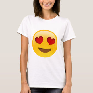 De Ogen van het Hart van t-Paita van Emoji T Shirt