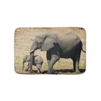 De Olifant en de Moeder van het baby Badmat