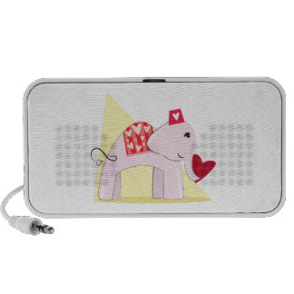De Olifant van de liefde iPod Speaker