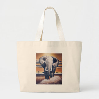 De Olifant van de safari Grote Draagtas