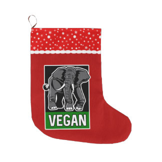 De Olifant van de veganist Grote Kerstsok