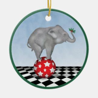 De Olifant van het baby en het ornament van de