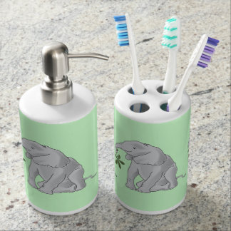 De Olifant van het baby Tandenborstelhouder