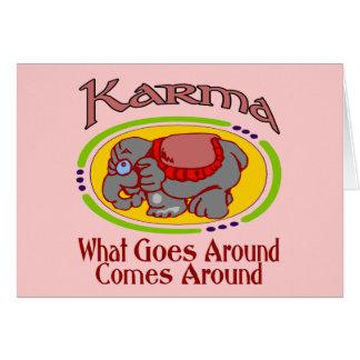 De Olifant van Karma Kaart