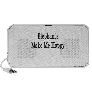 De olifanten maken me Gelukkig PC Speakers