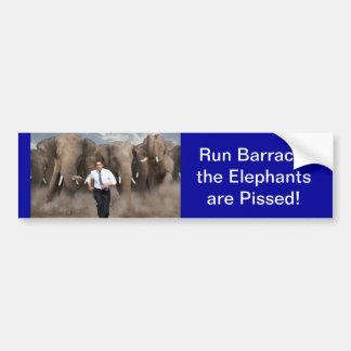 De olifanten zijn Boos! Bumpersticker