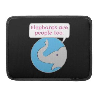 De olifanten zijn ook Mensen Sleeve Voor MacBooks