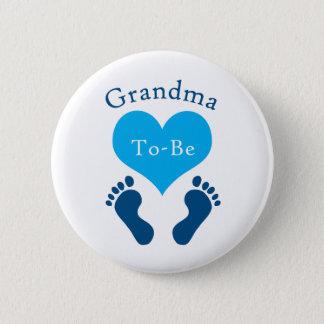 De oma aan-is ronde button 5,7 cm