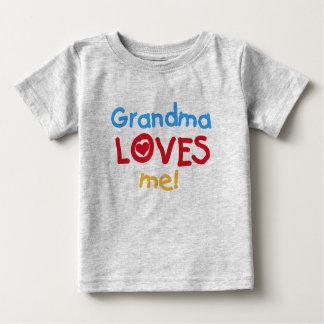 De oma houdt van me baby t shirts