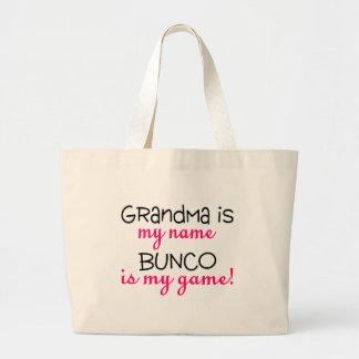 De oma is Mijn Naam Bunco is Mijn Spel Grote Draagtas