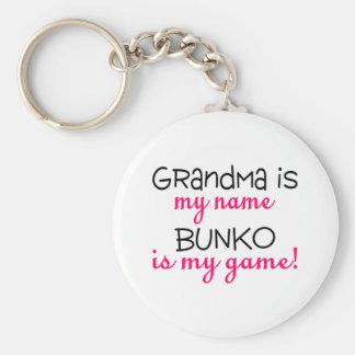 De oma is Mijn Naam Bunko is Mijn Spel Sleutelhanger