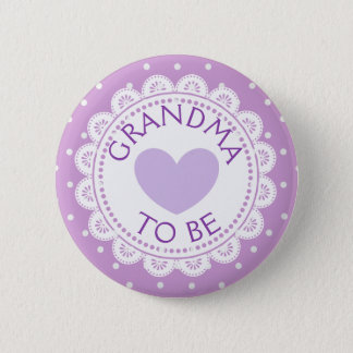 De Oma van de Stip van Purple Heart om Knoop te Ronde Button 5,7 Cm