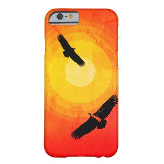 De omcirkelende Zon van de Woestijn van Gieren Barely There iPhone 6 Hoesje