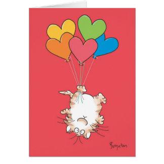 De OMGEKEERDE Valentijnskaarten van de KAT door Kaart