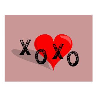 De Omhelzingen en de Kussen van het Hart XOXO Briefkaart
