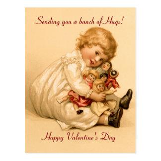 De Omhelzingen van Valentijn Briefkaart