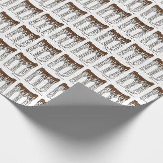 De Omslag van de Gift van Chocoholic Valentijn van Inpakpapier