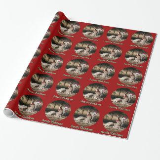 De Omslag van de Gift van de Kangoeroes van Inpakpapier