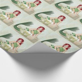 De Omslag van de Gift van de meermin, verpakkend Inpakpapier
