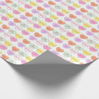 De Omslag van de Valentijnsdag van het Hart van de Inpakpapier