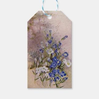 De omzoomde Labels van de Gift Wildflower van de Cadeaulabel