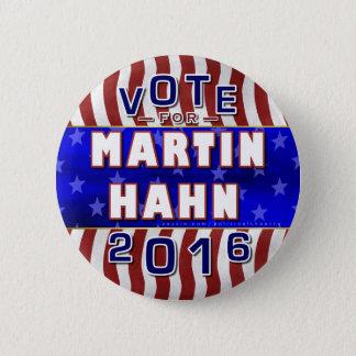 De Onafhankelijke van de Verkiezing van Martin Ronde Button 5,7 Cm