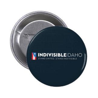 De ondeelbare Knopen van Idaho Ronde Button 5,7 Cm