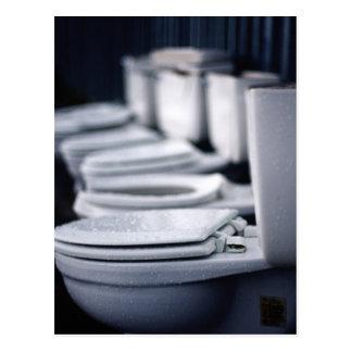 De Onderbreking van de badkamers!! Briefkaart