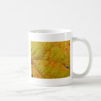 De Onderkant van het Blad van de druif Koffiemok