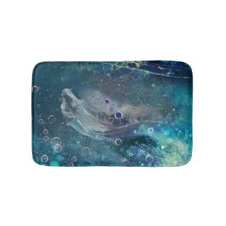De OnderwaterMeermin van de Aura van de indigo Badmatten