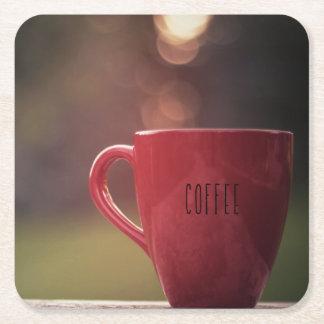 De Onderzetters van de Koffie van de zonsondergang