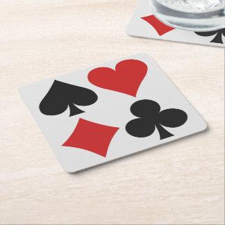 De onderzetters van de Speler van de kaart