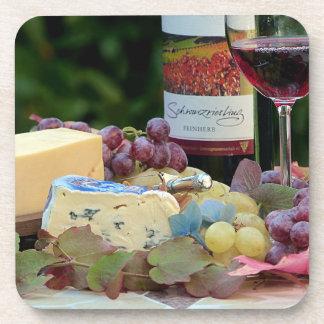 De Onderzetters van de wijn en van de Kaas
