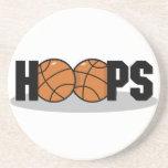 De Onderzetters van het Basketbal van hoepels