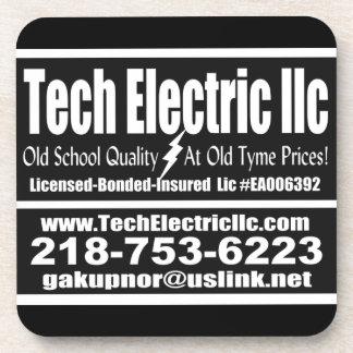 De onderzetters van TechElectric 6 pak