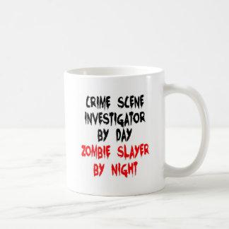 De Onderzoeker van de Scène van de misdaad Koffiemok