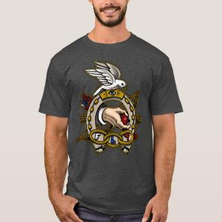 De oneven Symbolische Hoef van Kameraden T Shirt