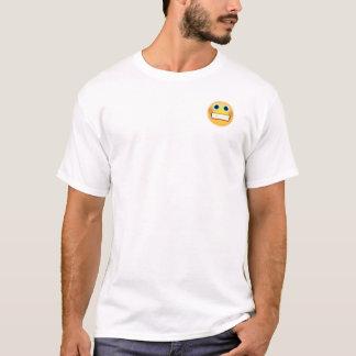 De onhandige T-shirt van Emoji van de Grijns