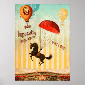 De onmogelijke Dingen gebeuren Elke Dag Poster