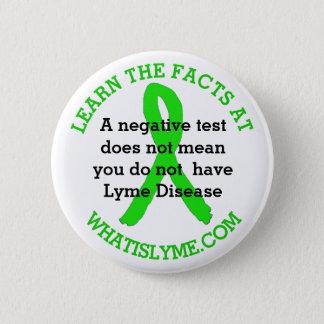 De onnauwkeurige het Testen van de Ziekte Lyme Ronde Button 5,7 Cm