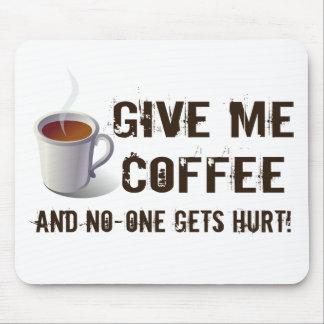 De Ontbering van Caffein Muismat