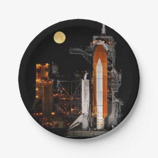 De Ontdekking en de Maan van de ruimtependel Papieren Bordje