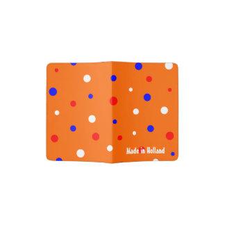 De ontmoete Confettien van Paspoorthouder Oranje Paspoort Houder
